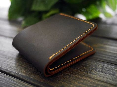 Best Handmade Leather Wallets - custom mens leather wallet monogrammed leather wallet