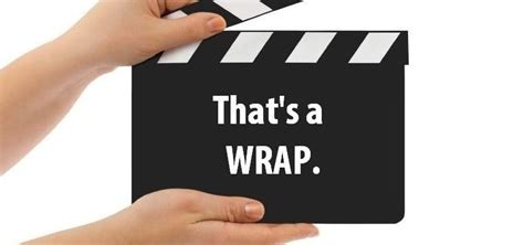 that s a wrap that s a wrap wellness recovery plan