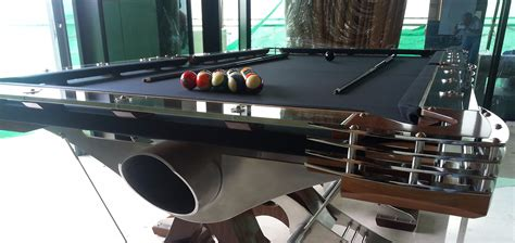 Handmade Pool Table - hurricane billiards cool unique and modern custom pool