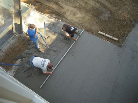 How To Make A Cement Patio by Concrete Floor Pour 9 Best Tips For Floor Pouring