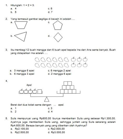 Latihan Matematika Nalaria Realistik Tingkat Sd Edisi 1 latihan soal matematika nalaria realistik paket 6 untuk kelas 1 2 republika