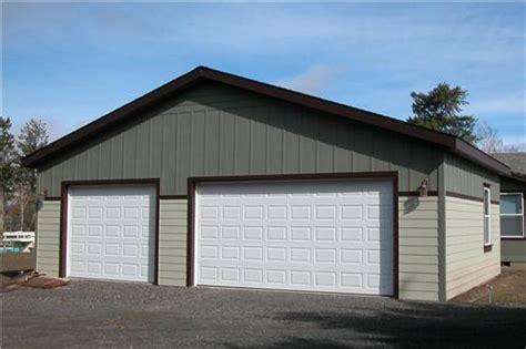 Metal 3 Car Garage by 2 Tone 3 Car Steel Garage Building Build To Suit Metal