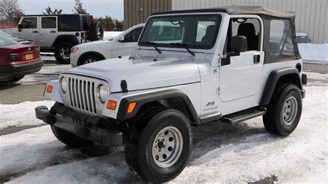 Top Jeep For Sale Sold 2006 Jeep Wrangler Se For Sale Low Auto Soft