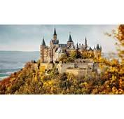 Hohenzollern Castle At Fall Wallpaper  Studio