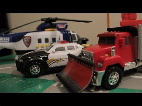 toy monster trucks racing wheels monster trucks police car race helicopters big
