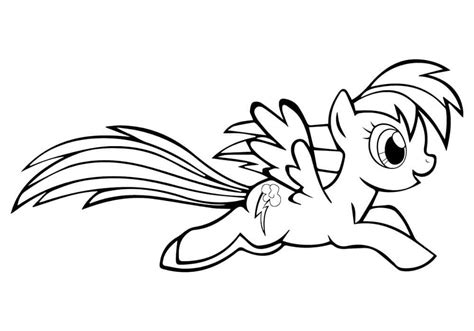 rainbow dash coloring pages 18 coloring pages for kids