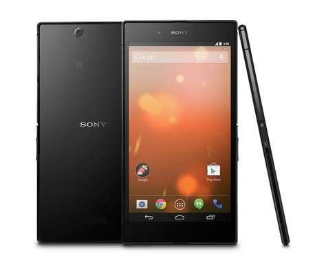 Hp Android Sony Z Ultra sony xperia z ultra gpe dostaje androida 5 0 lollipop gt tablety pl
