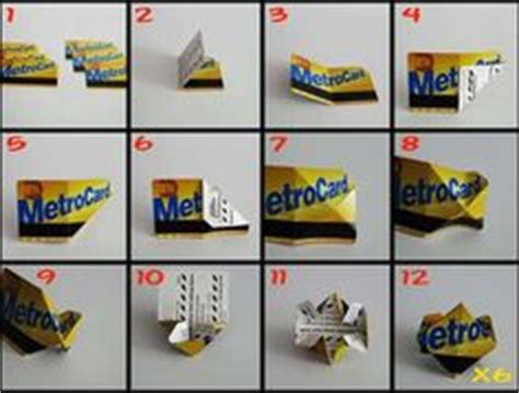 Metrocard Origami - 1000 images about origami on origami