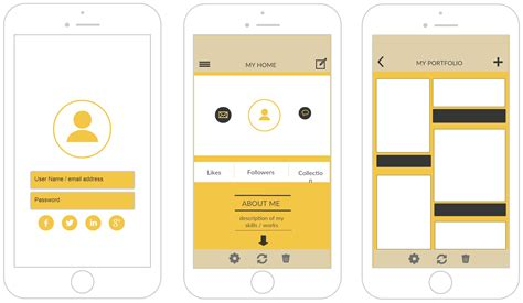 iphone mockup templates  design iphone applications