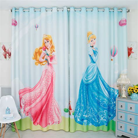 kids window curtain aliexpress com buy 2017 new design cartoon princess