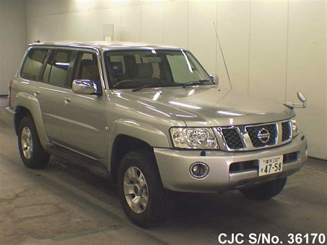 nissan safari 2004 nissan safari silver for sale stock no 36170