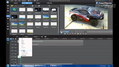 Video Tutorial Video Editing | editing a simple video powerdirector tutorial youtube
