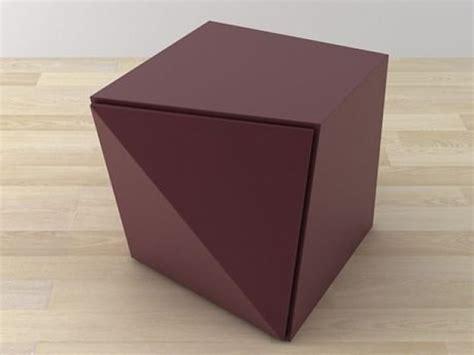 Origami Storage - origami storage unit 3d model reflex angelo
