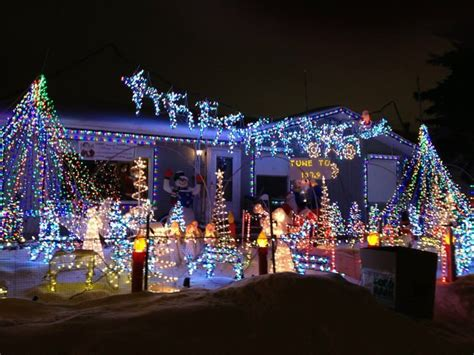 you have to see this christmas light show in edmonton
