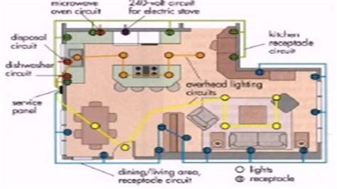 floor plan with electrical layout how to draw