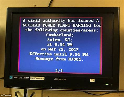 New Tv Alert by Nj Emergency Alert System Accidentally Activates Daily