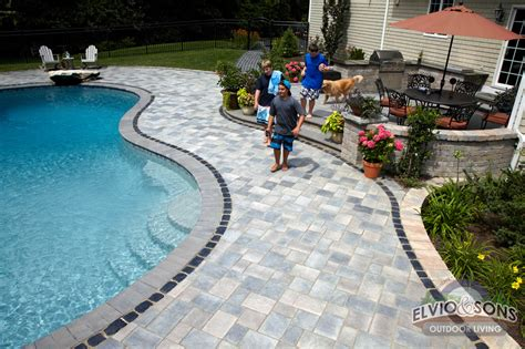 Pool And Patio Center Ri Saunderstown Ri Gunite Pool Patio And Water Features