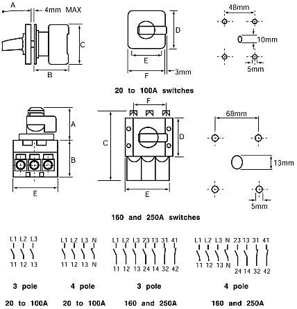 4 pole isolator switch wiring diagram wiring diagram