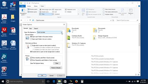 windows 10 outlook tutorial quick access in windows 10 tutorial teachucomp inc