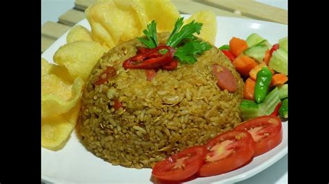 resep  membuat nasi goreng lezat fried rice youtube