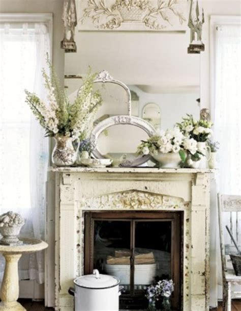 fireplace decor ideas vintage home decorating ideas stone fireplace mantel