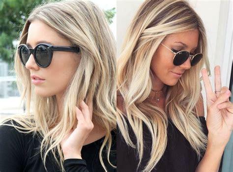 das perfekte medium blonde frisuren  neue frisur stil