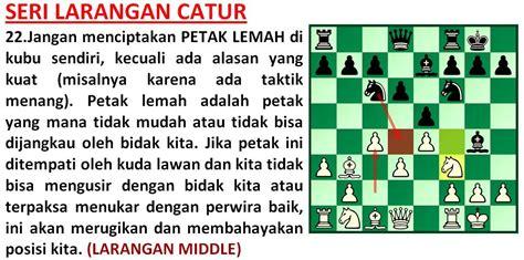 Taktik Dan Strategi Menang Bermain Catur Limited strategi catur menjelaskan strategi bermain catur disertai dengan psikologi taktik dan rumus
