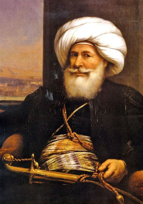 pashas ottoman empire an 1840 portrait of muhammad ali pasha by auguste couder