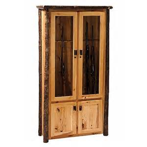 Gun Cabinet Ideas by Rustic Hickory 8 Gun Cabinet Reclaimed Furniture Design