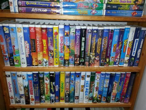 family dvd collection stratford pei disney collection and classic vhs