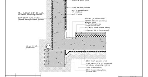 Tortilla Revit : Waterproofing & Drainage