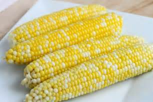 perfect corn on the cob stick a fork in it