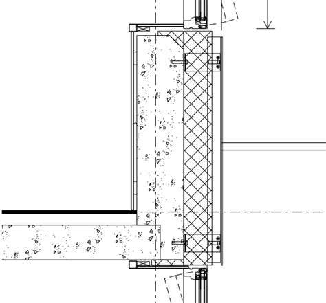 architectural specification sections grenfell tower window wall section of a typical floor e