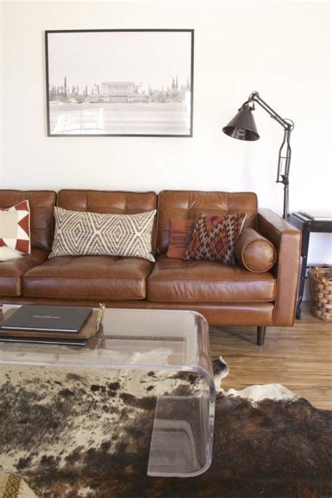 modern brown sofa design for living room felmiatika com remodelaholic modernized southwest style decorating