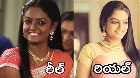 karthika deepam serial heroine photos videos karthika deepam serial actress real photos youtube