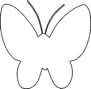 butterfly stencil template free stencils