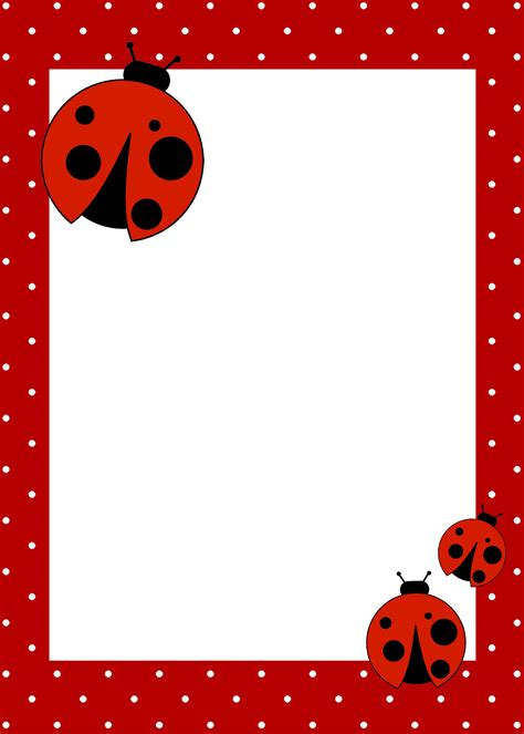 Ladybug Birthday Card Template ladybug birthday with free printables how to nest