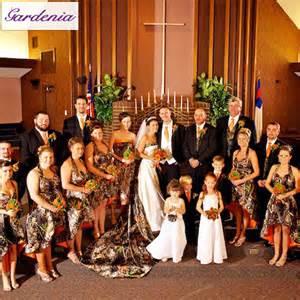 custom made 2015 halter hi lo country rustic camo wedding
