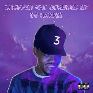 coloring book chance the rapper album chance the rapper coloring book chopped and screwed