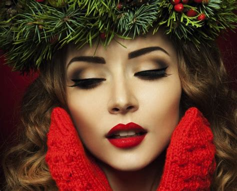 some adorable christmas makeup ideas 2014 your beauty first