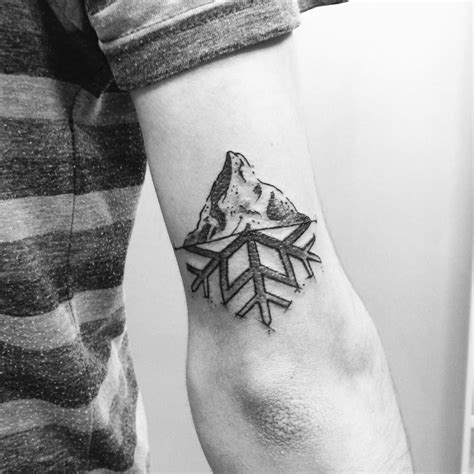 winter tattoo amo la montagna grazie diego alexfioratti