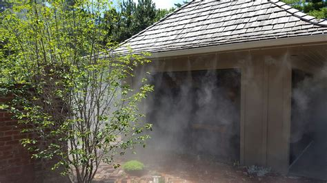 misting systems misting fans for home patios restaurants
