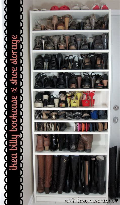 ikea hacks shoe storage 30 genius ikea billy hacks for your inspiration ikea