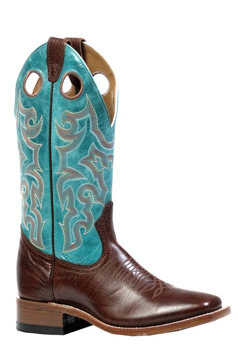 wide cowboy boots for boulet ladies cowboy boots with wide square toe 4748