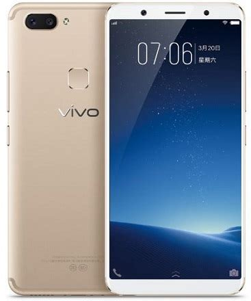 Hp Vivo 6 Inch Vivo X20 6 Inch Screen Fullview Display With Snapdragon 660 4gb Ram And Dual 12mp 5mp Primary