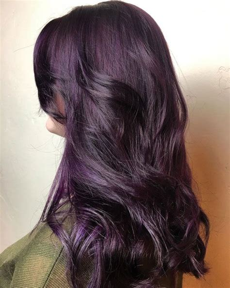 plum hair color best 25 plum hair dye ideas on plum hair