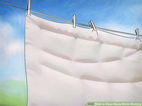 what happens if you wash a down comforter 3 ways to clean heavy winter bedding wikihow