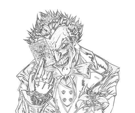free coloring pages of the joker