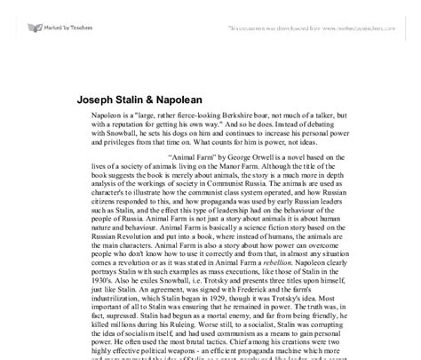 Stalin Essay by Joseph Stalin Essay 100 Original
