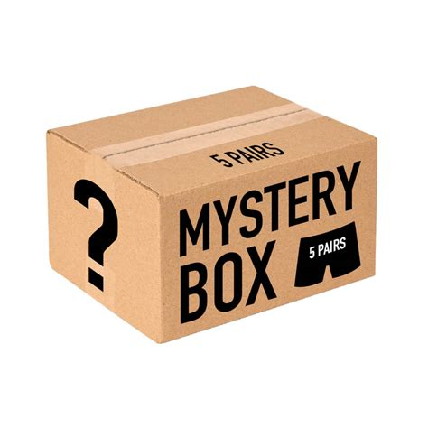 Mystery Box psd quot mystery box 5 pairs quot s boxer brief psd
